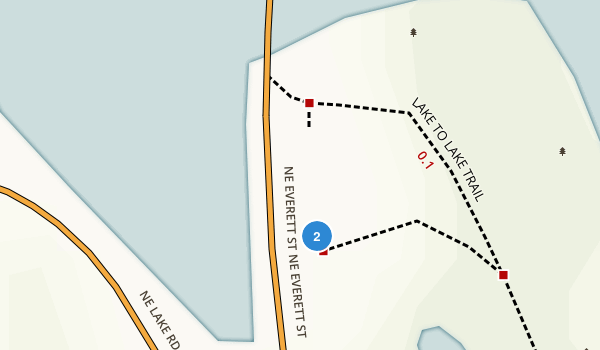 Lacamas Park Map