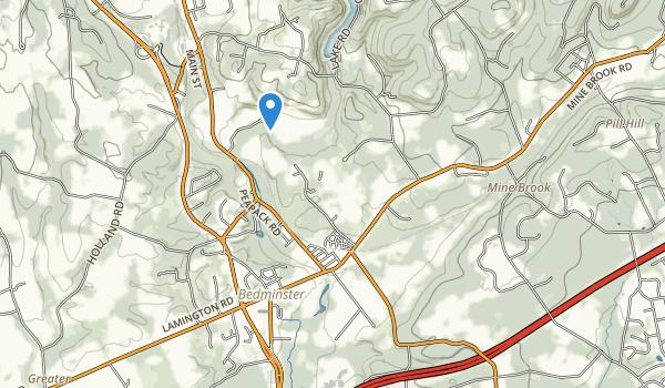 trail locations for Natrar Park