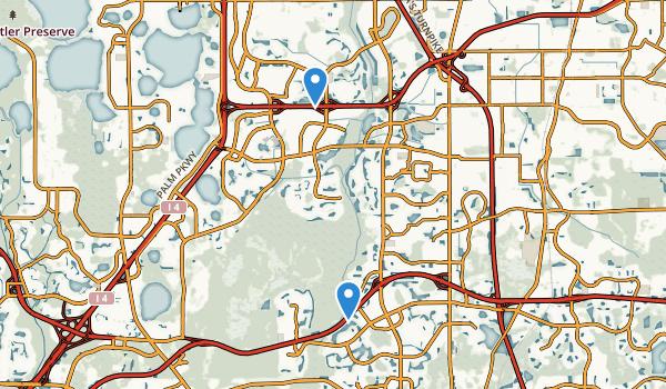 trail locations for Shingle Creek