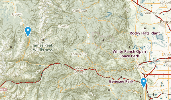 Winter Park Map