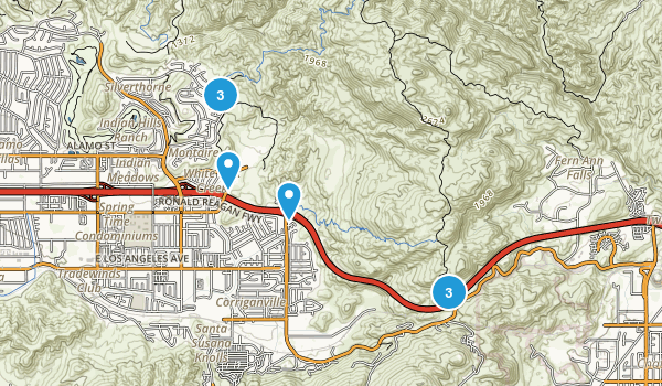 Rocky Peak Park Map