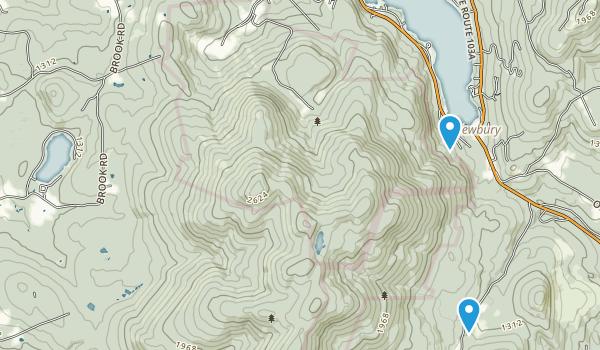 Sunapee State Park Map