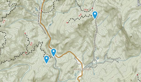 Jocassee Gorger Management Area Map
