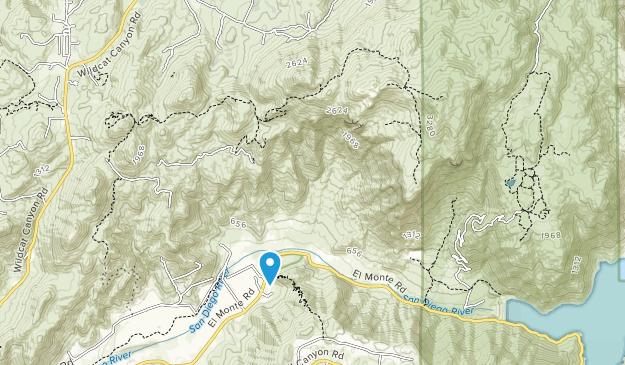 El Monte County Park Map