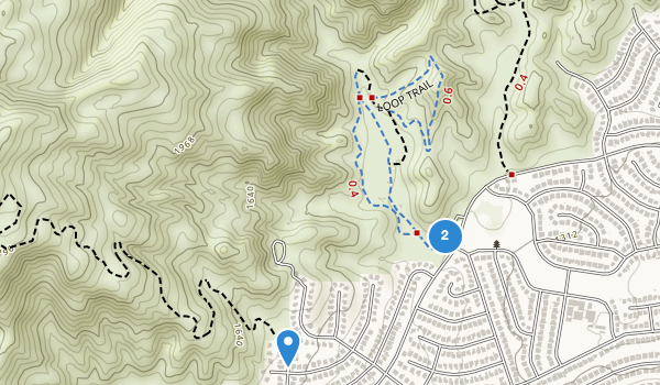 trail locations for O Melveny Park