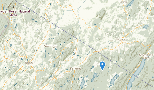 trail locations for Pochuk Mountain State Forest