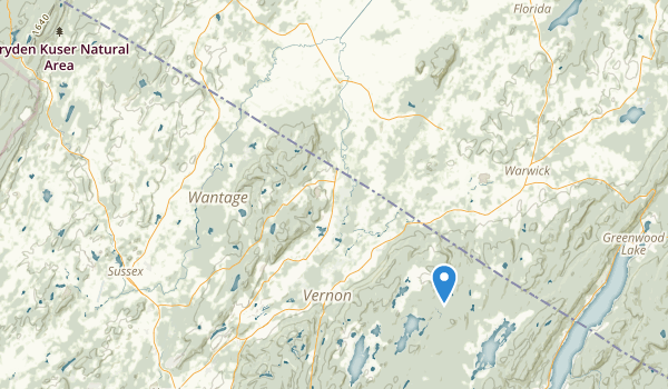 Pochuk Mountain State Forest Map