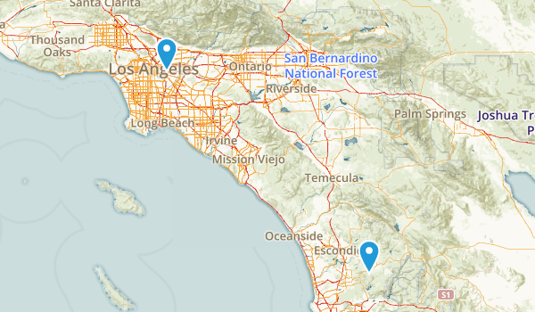 San Pasqual Park Map