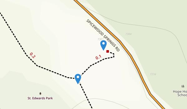 St Edwards Park Map