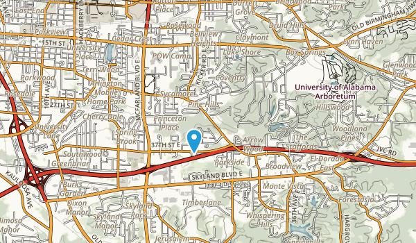 Bowers Park Map