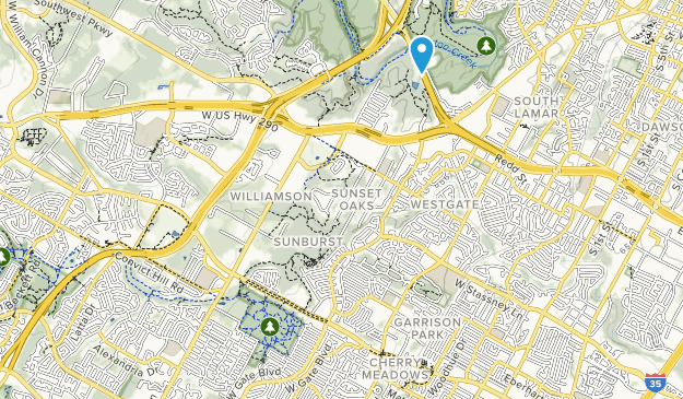 Gus Fruth Park Map