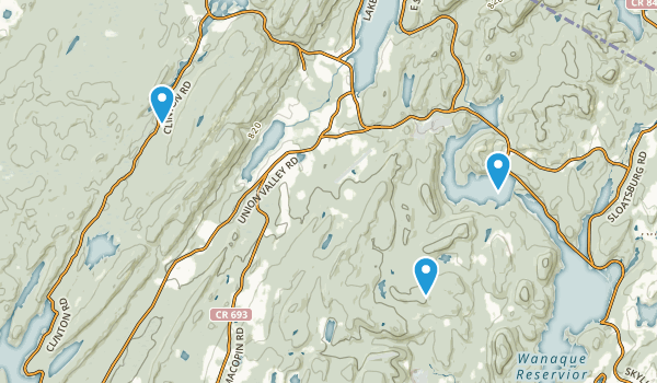 Long Pond Ironworks State Park Map