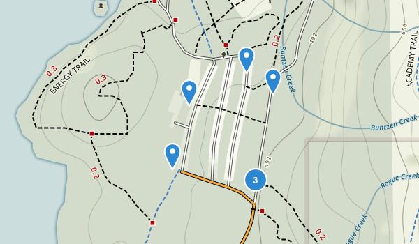 Buntzen Lake Reservoir Park Map