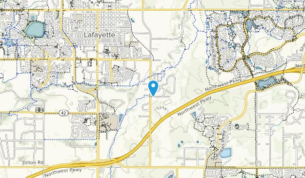 Lafayette Great Park Map