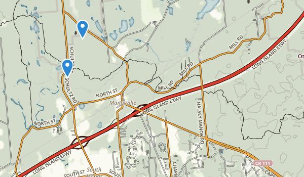 trail locations for Robert Cushman Murphy County Park