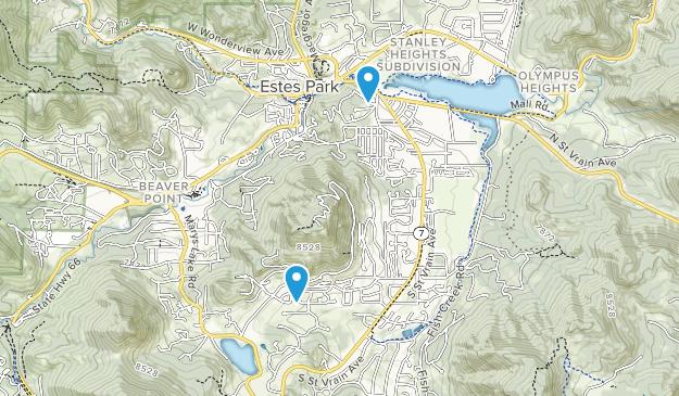 Estes Park Goif Course Map