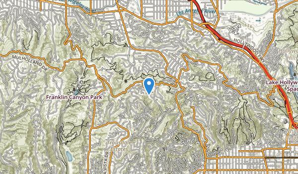 trail locations for Fryman Conyon Park