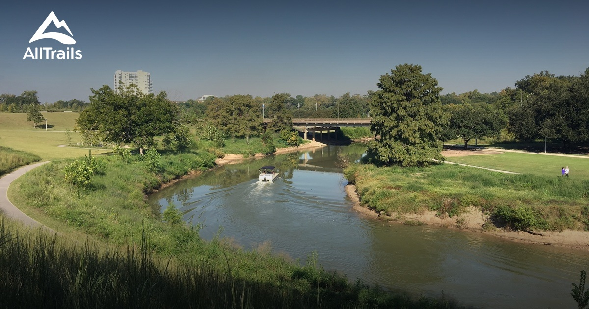 Image Result For Buffalo Bayou Running Trail Map