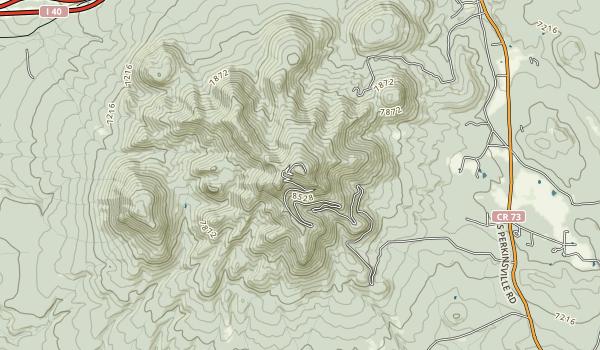 trail locations for Buckskinner Park