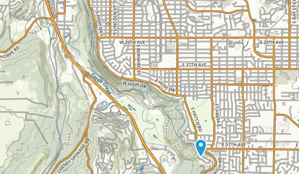Comstock Park Map