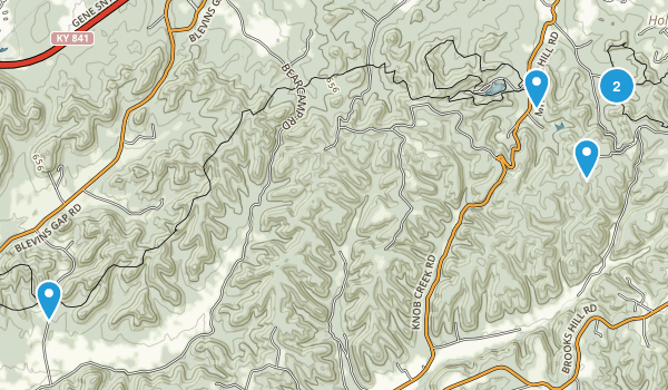 Jefferson County Memorial Forest Map