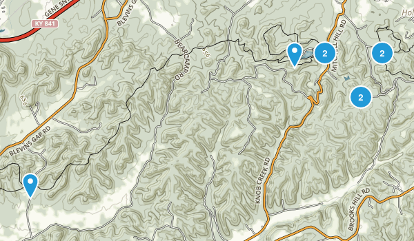 Best Trails in Jefferson County Memorial Forest Kentucky 133
