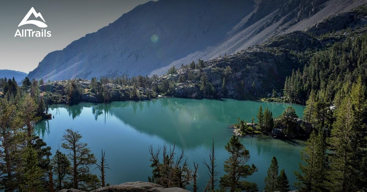 pine lakes muir wilderness john california trail alltrails map area trails parks
