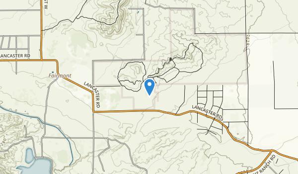 Antelope Valley California Poppy Reserve Map