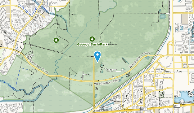 George Bush Park Map Best Trails in George Bush Park   Texas | AllTrails
