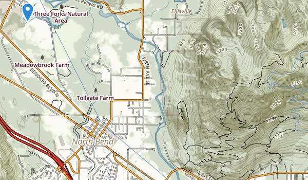 Three Forks Park Map