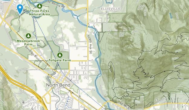 Three Forks Park Map