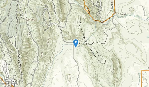 trail locations for Bohn Park