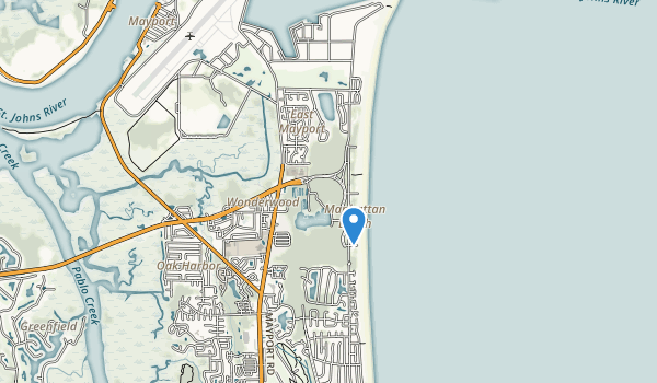 Kathryn Abbey Hanna Park Map