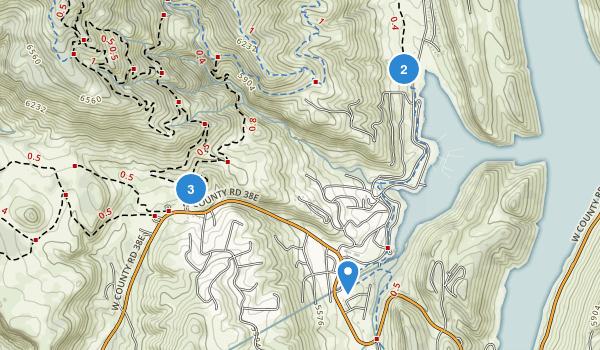 Horsetooth Mountain Park Map