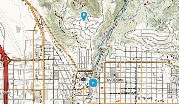 Memory Grove Park Map