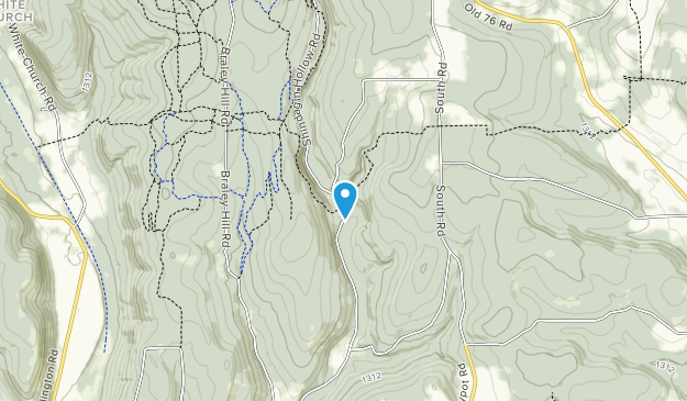 Shindagin Hollow State Forest Map