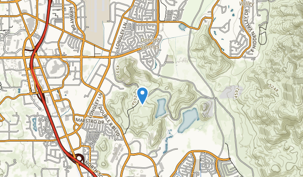 trail locations for Mira Loma Park