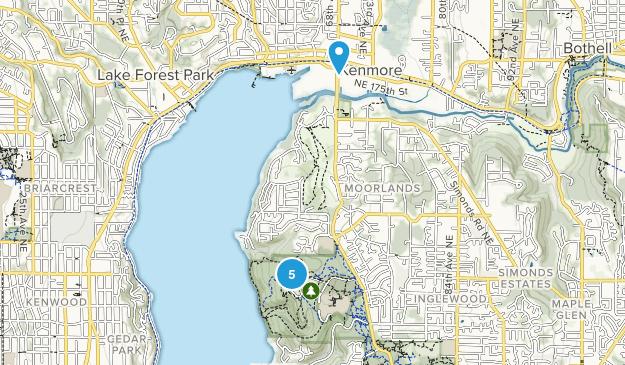 St Edward  State Park Map