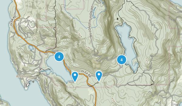 Language In 45 And 47 Stella Street: Best Trails In Moran State Park - Washington