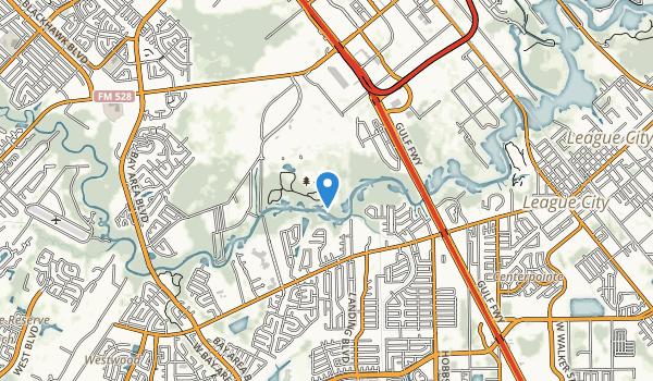 Challenger Seven Memorial Park Map