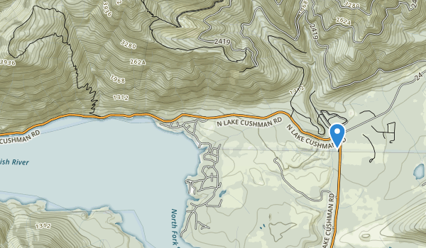 Camp Cushman And Recreatjon park Map