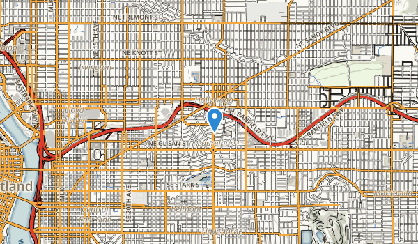 trail locations for Us Grant Park