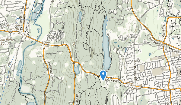 Hazen Park Map