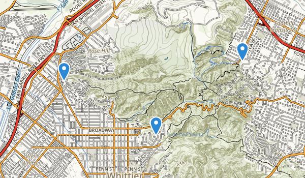 Rose Hills Memorial Park Map