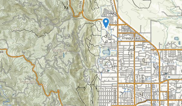 Foothills Community Park Map
