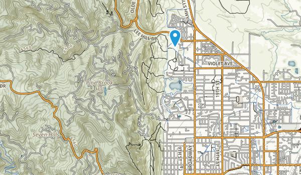 Foothills Community Park Map