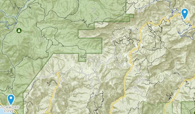 Boney Mountain State Wildemess Map