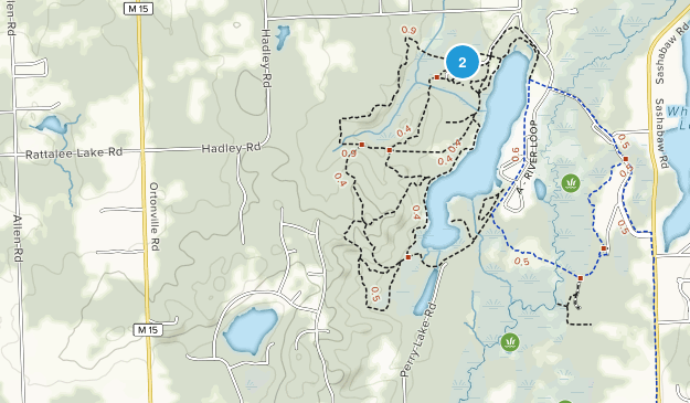 Independence Oaks County Park Map