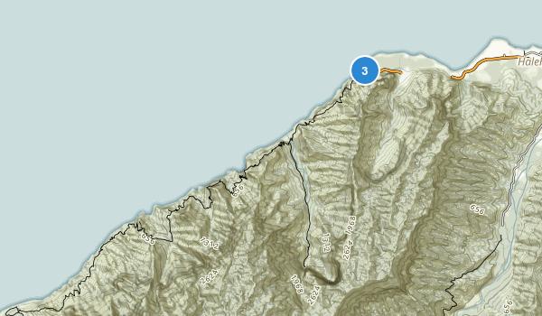 Napali Coast State Park Map