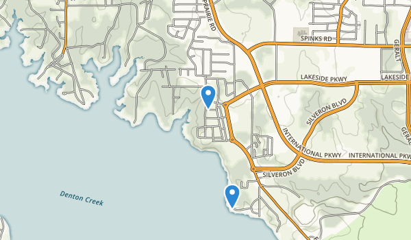 trail locations for Murrell Park